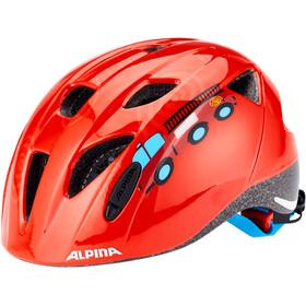 Alpina Ximo Helm Kinder rot/bunt